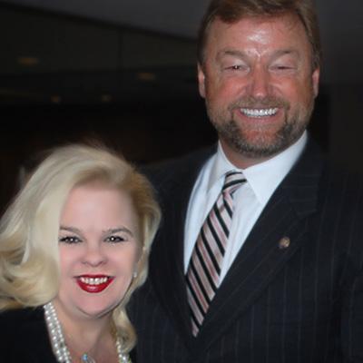 Michele Combs with Senator Heller