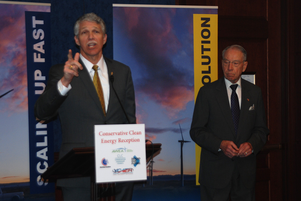 Young Conservatives for Energy Reform hosts clean energy reception on Capitol Hill